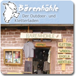 Outdoor-Laden Bärenhöhle